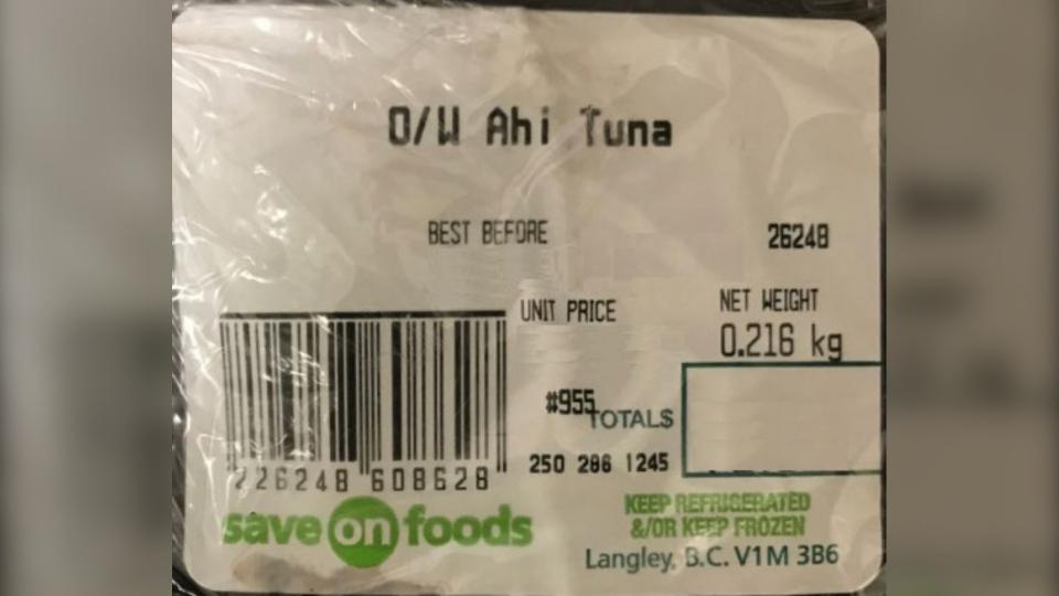 O/W Tuna