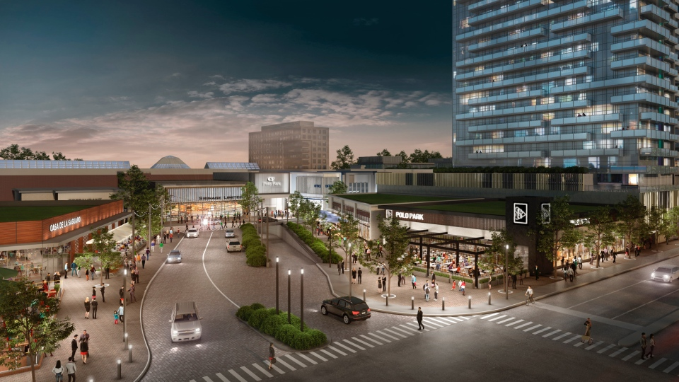 Supplied image of Shindico and Cadillac Fairview's plans. (Source: Cadillac Fairview)