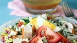 Cobb Coleslaw Salad With Maple Dressing