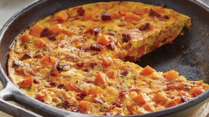 Potato And Chicken Frittata