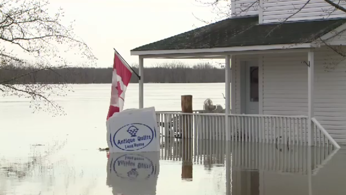 The Lang House Bed & Breakfast was hit hard by the recent record-breaking flooding in Southern New Brunswick.