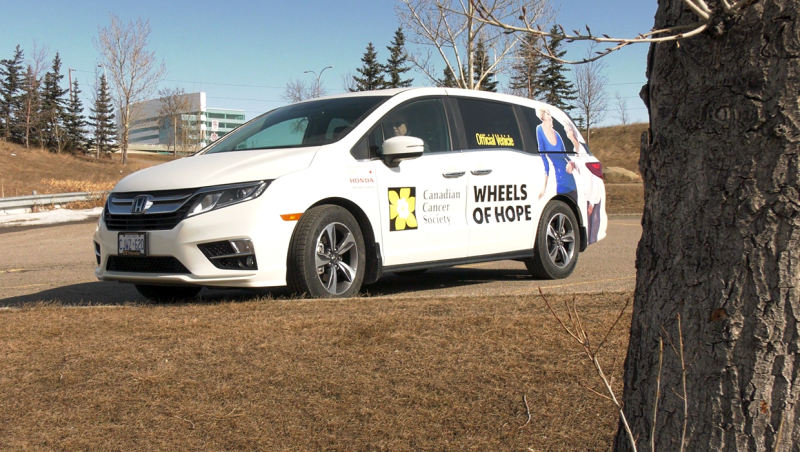 Created by the Canadian Cancer Society, drivers with the Wheels of Hope program have been driving cancer patients to their medical appointments for over 60 years