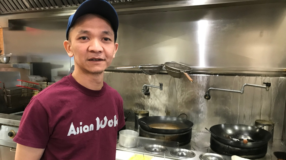Tay Thai, owner of Asian Wok in London, Ont.