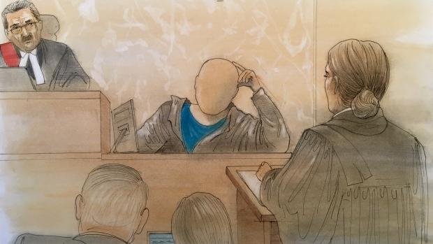 court sketch,
