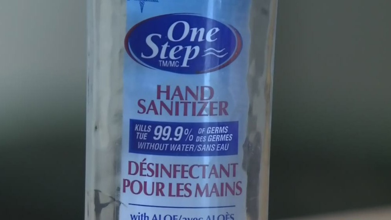Hand sanitizer sold out in many Regina stores