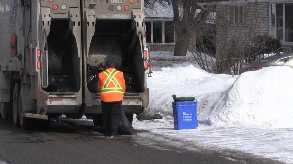 Sudbury garbage collection