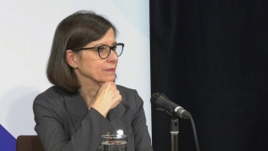 Health Minister Danielle McCann updates on COVID-19