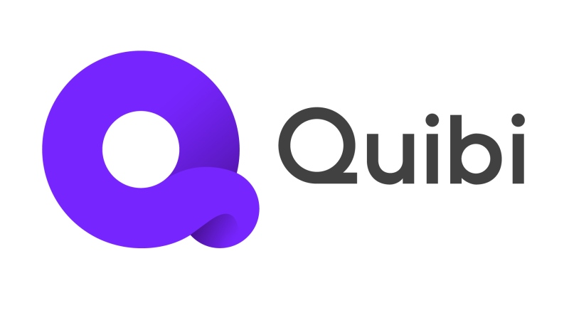 The Quibi logo is seen here. The company said Wednesday that it would wind down its operations and sell its assets.