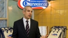 Ian Smith, chief executive officer of Clearwater Seafoods, is seen in the company's retail outlet in Halifax on Tuesday, Oct. 26, 2010. (THE CANADIAN PRESS/Andrew Vaughan