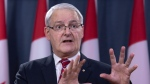 Minister of Transport Marc Garneau attends a news conference on the Iran plane crash, Wednesday, January 15, 2020 in Ottawa. THE CANADIAN PRESS/Adrian Wyld