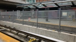 The platform at Tunney's Pasture Station. (Ted Raymond / CTV News Ottawa)