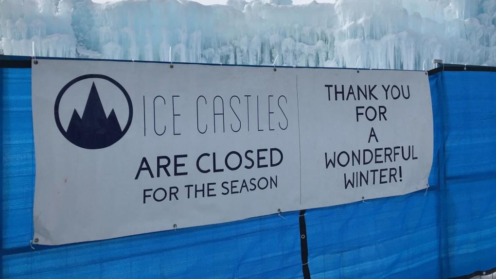 Ice Castles close