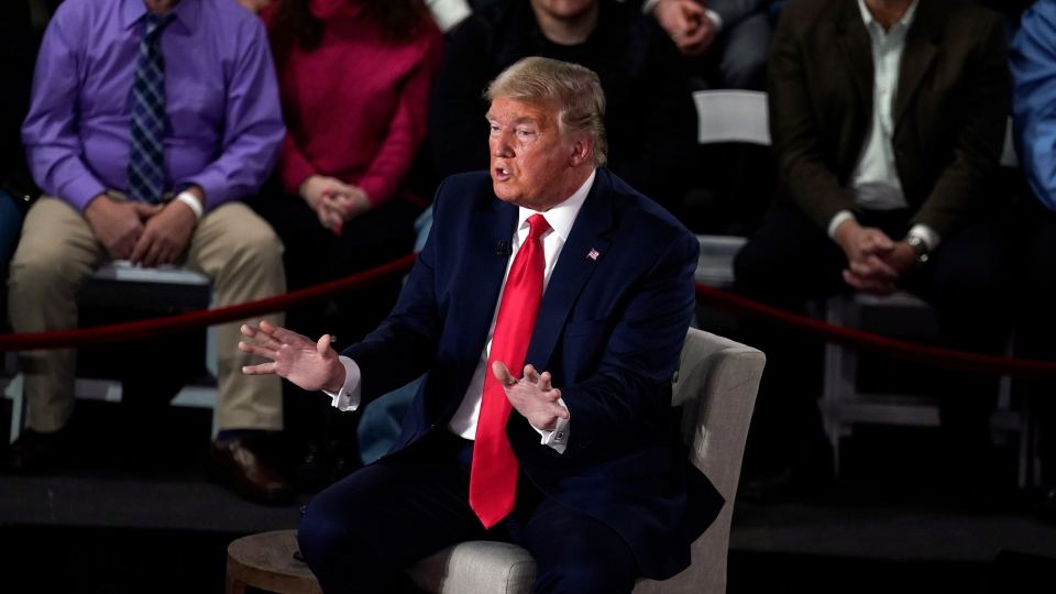 Trump Defends His Rhetoric In 1st Tv Town Hall Of 2020 Ctv News
