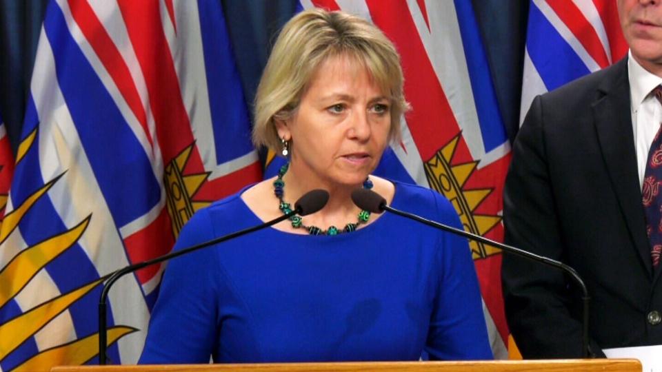 B.C. Provincial Health Officer Dr. Bonnie Henry
