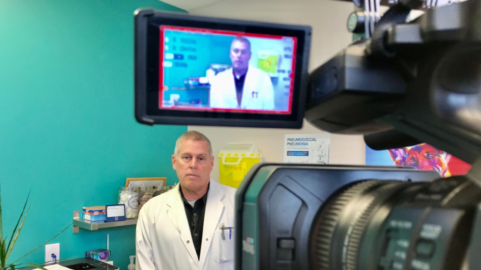 Dr. Don Wilson talked to CTV News Edmonton on Mar. 5, 2020. (Sean Amato/CTV News Edmonton)