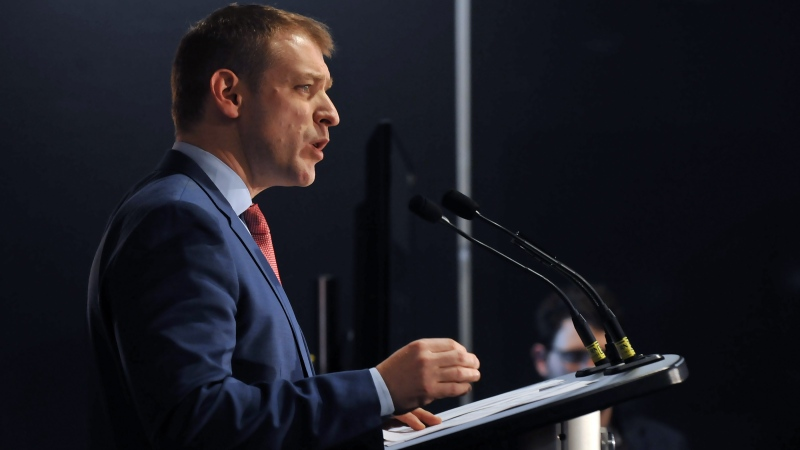 Dr. Andrew Furey officially entered the race to replace Dwight Ball as leader of the provincial Liberal party and Premier of Newfoundland and Labrador on Tuesday, March 3, 2020. (THE CANADIAN PRESS/Douglas Gaulton)