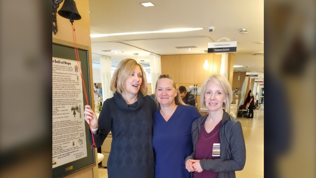 Coun Diane Deans Rings The Bell To Complete Chemo Treatment For Ovarian Cancer Ctv News