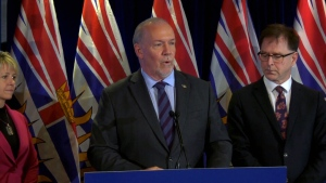 The premier is expected to address new protocols for people returning to B.C. amid the ongoing COVID-19 crisis. (CTV News)
