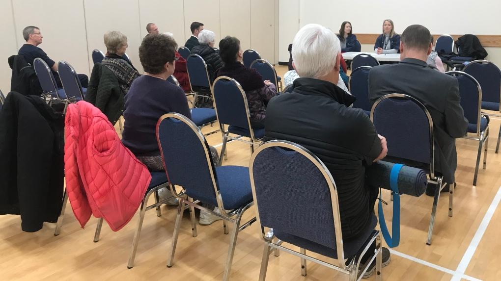 Newmarket seniors' meeting place