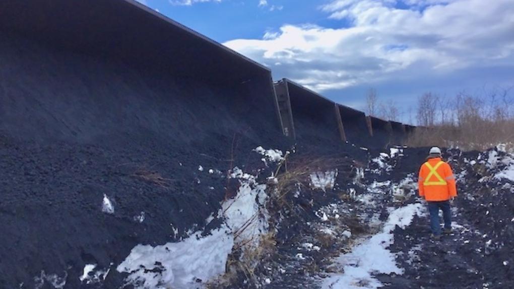 Train derailment Giscome