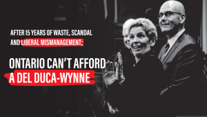 The Progressive Conservatives posted advertisements on social media attacking the newly-elected Ontario leader. (Twitter/@OntarioPCParty)