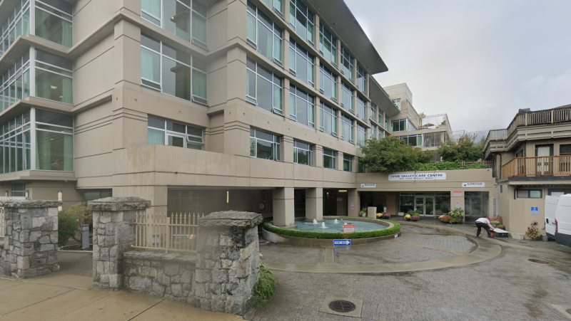 The Lynn Valley Care Centre can be seen in this Google Map images captured in September 2019. (Google Maps)