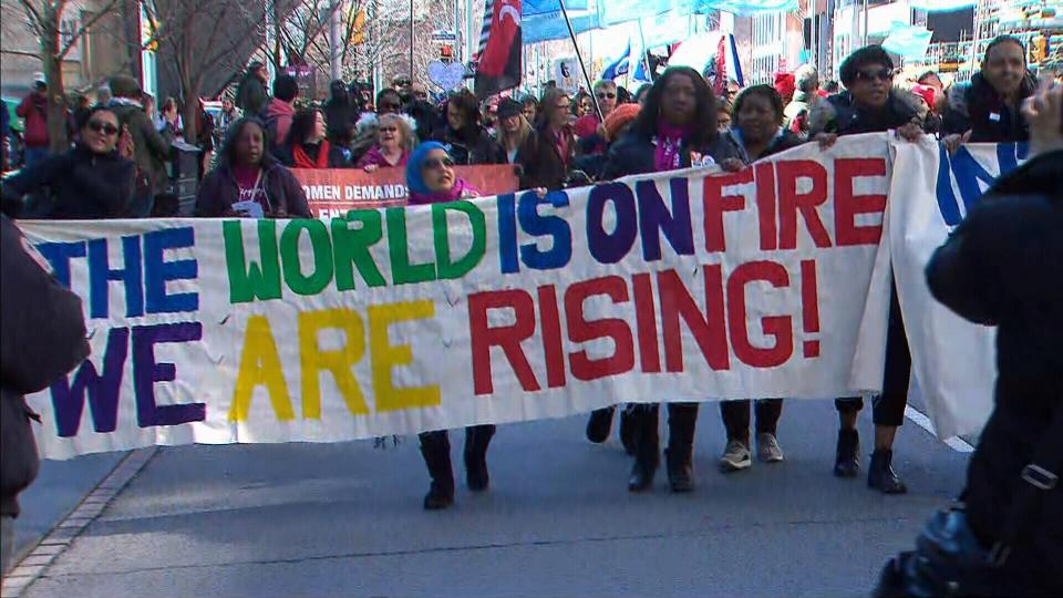 International women's day, toronto
