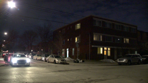 A man is in stable condition after being stabbed in an apartment on Plaza Ave. in Montreal North Mar. 8, 2020.