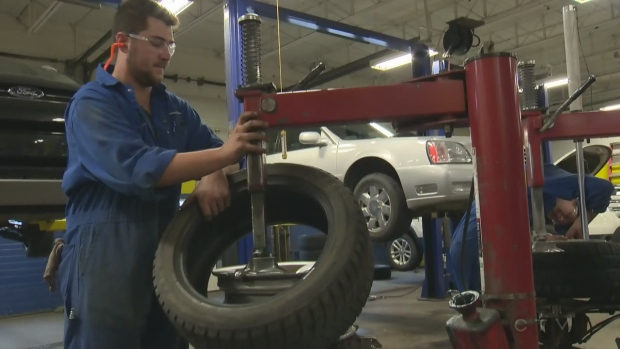 In this week's Ask an Expert segment, Marina Moore talks to Robin Lafortune from Fountain Tire about tire maintenance.  (CTV Northern Ontario)