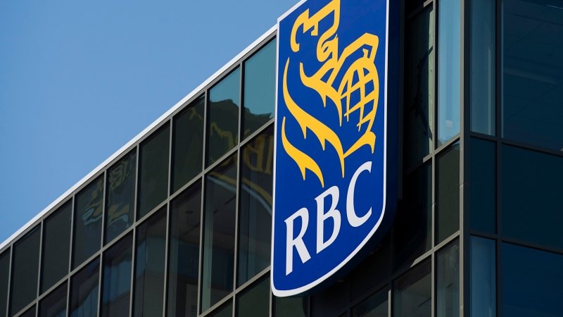 The RBC Royal Bank of Canada logo is seen in this undated file photo. (The Canadian Press)