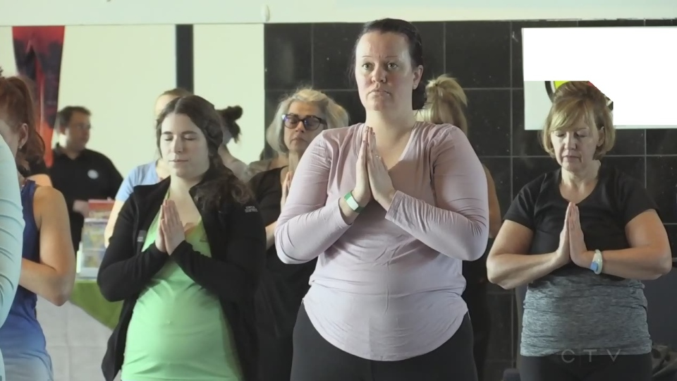 5th annual Sudbury Yogathon for Mental Health even