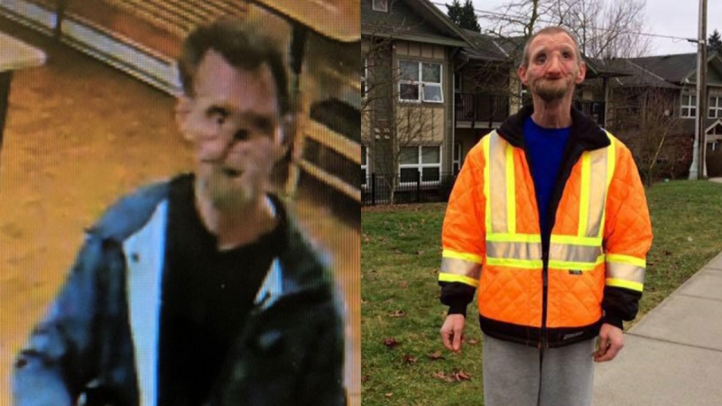 Danny Bayer is seen in undated photos provided by Surrey RCMP.