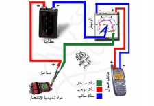 This manual found on the CD shows a graphic that demonstrates how to detonate a bomb using a cell phone.