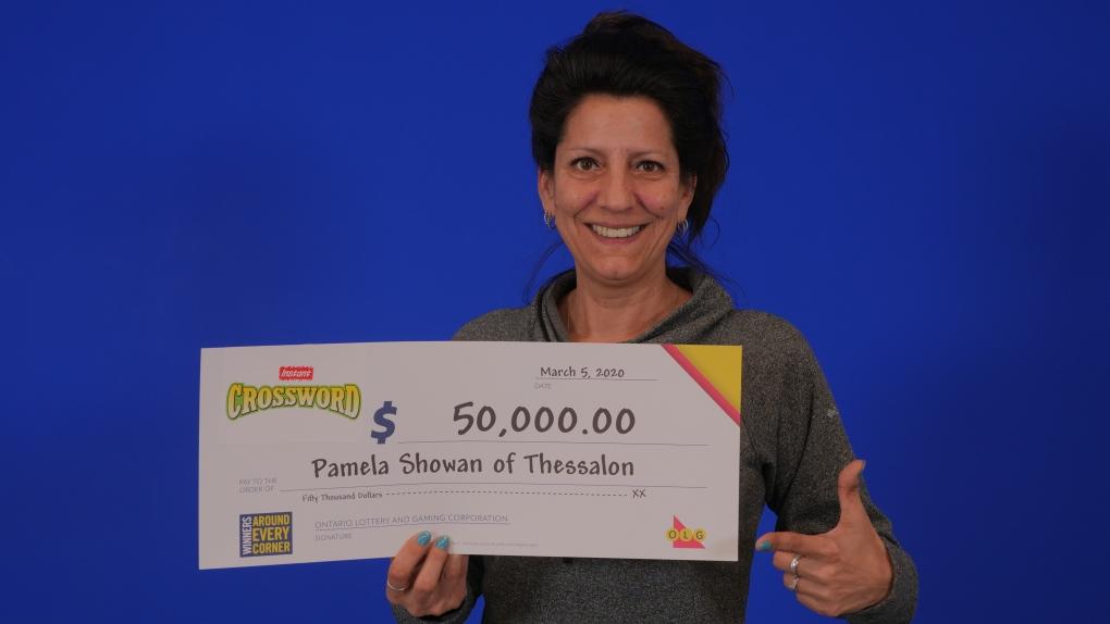 Pamela Showan of Thessalon wins $50K