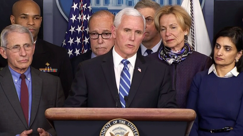 White House provides update on coronavirus