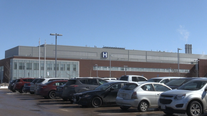 Sault Area Hospital. March 10, 2020 (Christian D'Avino/CTV Northern Ontario)