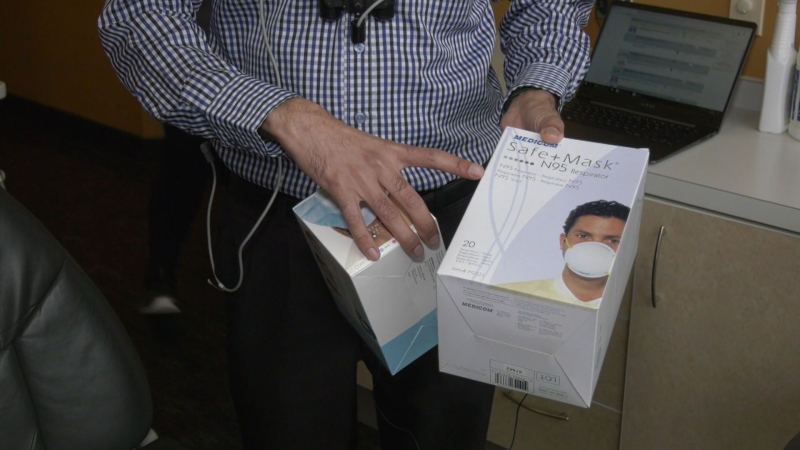 B.C. dentists are warning that a shortage of masks could lead to cancelled appointments and procedures during the COVID-19 outbreak.