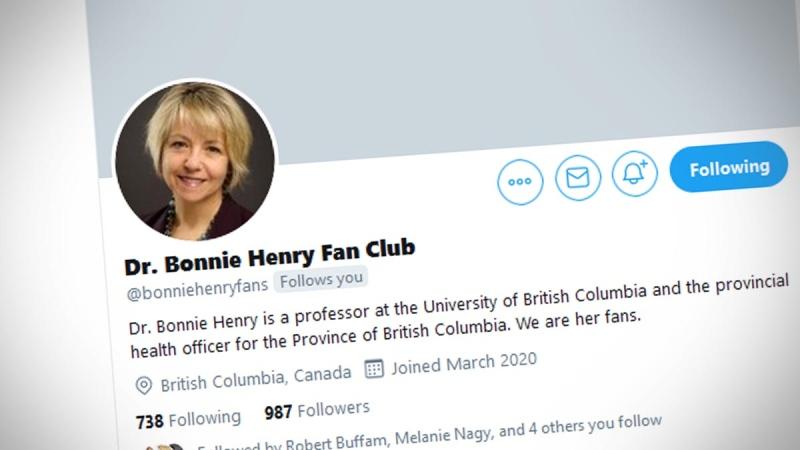 Dr. Bonnie Henry Fan Club