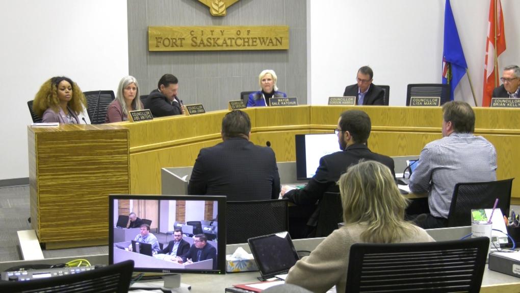 Fort Saskatchewan city council