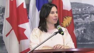 Montreal Mayor Valérie Plante.