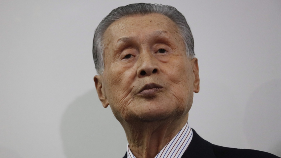 Tokyo 2020 Organizing Committee's Yoshiro Mori