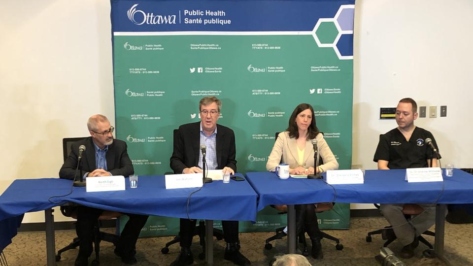 Update on Ottawa's first coronavirus case