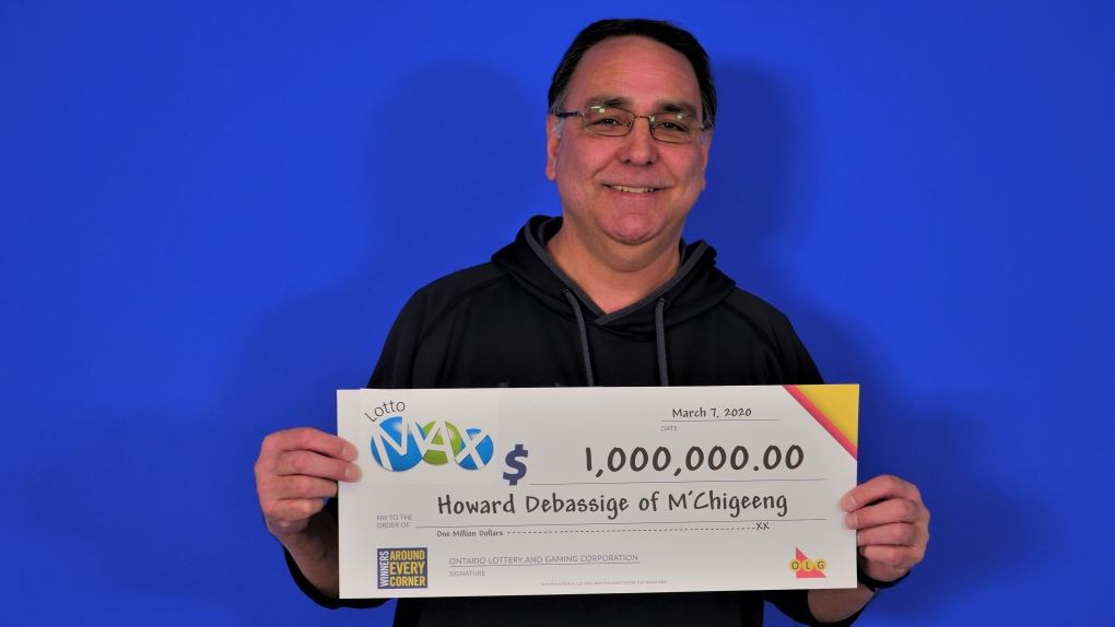 Howard Debassige of M'Chigeeng wins $1 million