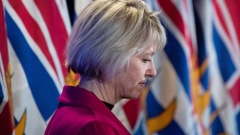 rovincial health officer Dr. Bonnie Henry listens during a news conference about the provincial response to the coronavirus, in Vancouver on Friday, March 6, 2020. THE CANADIAN PRESS/Darryl Dyck