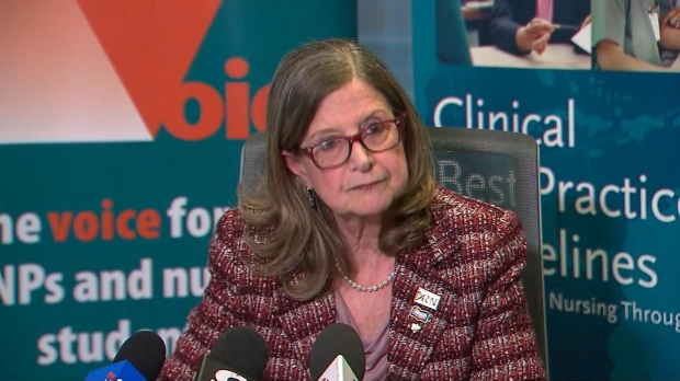 Doris Grinspun, the CEO of the Registered Nurses' Association of Ontario, is seen in this file photo.