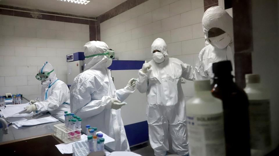 iran virus testing