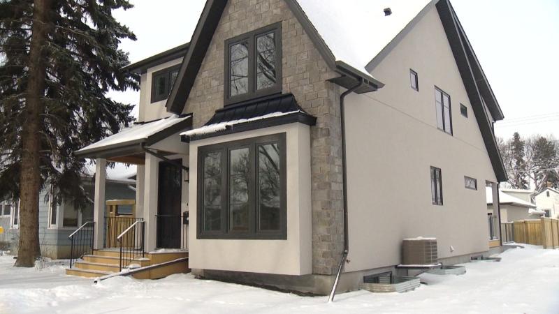 Infill housing in Edmonton