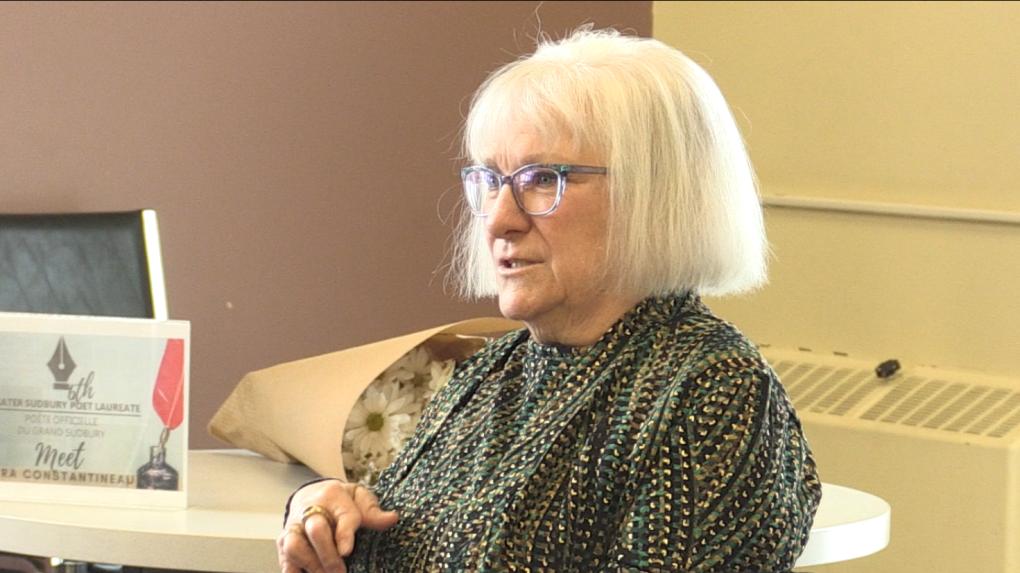 Vera Constantineau, Sudbury Poet Laureate