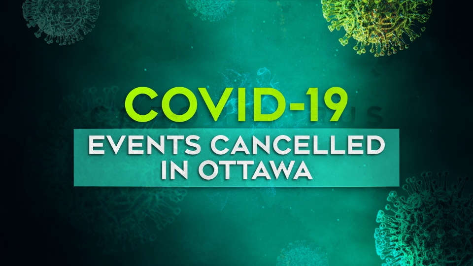 Events cancelled in Ottawa due to COVID-19