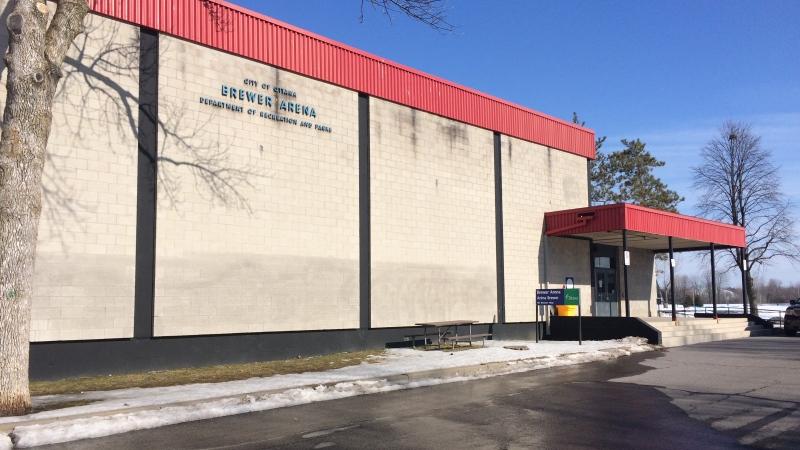 Ottawa's COVID-19 Community Assessment Centre will be located at Brewer Arena (Chris Black/CTV News Ottawa)